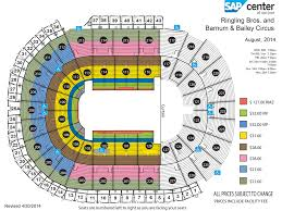 Woolly Mammoth Seating Chart Ringling Bros And Barnum Bailey Legends Sap Center