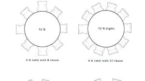 6 foot round tables 6 foot table skirt dimensions round tables for 8 best ideas on