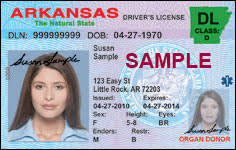 License Arkansas Digital En Kasu Route Drivers To
