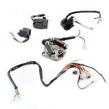 wiring harness ignition switch cdi unit magneto stator assembly for Trailer Wiring Harness at Pw50 Wiring Harness