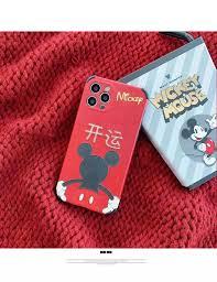 Fortune May Mắn Mickey Mouse Dành Cho Apple 11 Ốp Điện Thoại Năm Mới  Iphone11promax Năm