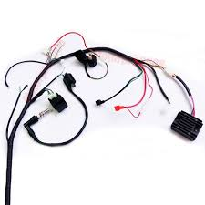 cc cc atv quad full electrics cdi coil rectifier wiring 250cc 200cc atv quad full electrics cdi coil rectifier wiring harness wire loom