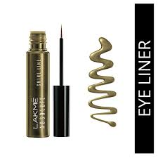 lakme absolute shine line eye liner liquid gold 4 5 ml purplle