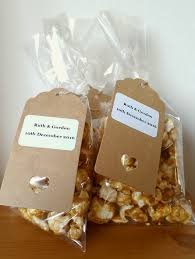 Wedding Favors With Popcorn