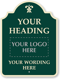 Custom Metal Decorative Signs