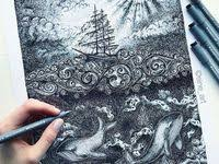 арт-рисунки: лучшие изображения (87) в 2020 г. | Рисунки ...