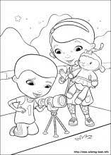 Doc Mcstuffins Coloring Pages On
