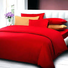 solid color duvet cover queen solid color comforter cover queen king size red wedding bedding set
