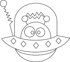 Small Picture Coloring Book Spaceship Coloring Coloring Pages