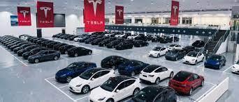 Tesla (TSLA) builds giant new delivery ...