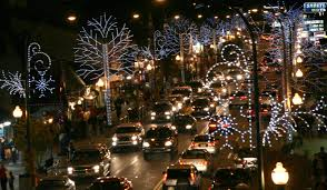 Gatlinburg Trolley Ride of Lights | The Smoky Mountains Are Calling