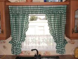 sink windows window kitchen window curtain ideas red flower fabric windows curtain