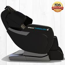 com cal breakthrough 4 massage chair recliner zero gravity built in heat deep tissue shiatsu massage and back stretch black beauty