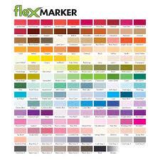Letraset Muted Tones Flex Marker Set Of 6 Buy Online In