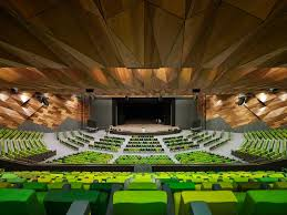 Plenary Seating Chart Melbourne Convention And Exhibition Centre By Woods Bagot