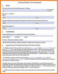 Simple Month To Month Rental Agreement Word Document Best Of Cross ...