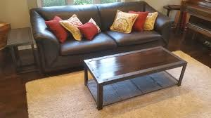 Industrial Living Room Furniture Industrial Living Room Furniture Set Milwaukee Area Custom