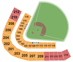 Kannapolis Intimidators Seating Chart Intimidators Stadium Seating Charts For All 2019 Events