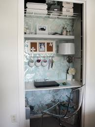 turn closet into office. Delighful Closet Outdoor Closet Desk Lovely Office In Home Design  Turn Into  To