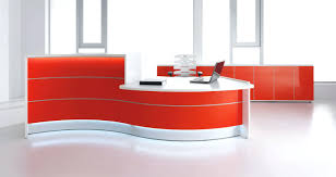 office reception table design. Surprising Modern Reception Desks Office Furniture Table Design Photos A