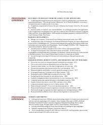 Animal Nutritionist Resume