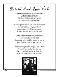 Small Picture Kids Poems for Black History Month Kids Poem Rosa Parks Black