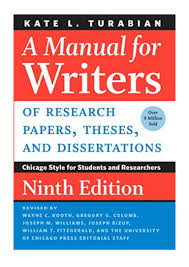 A Manual For Writers Of Research Papers Theses And Dissertations N