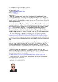 Examples Of Cover Letters For Teachers Teacher Job Inside 23