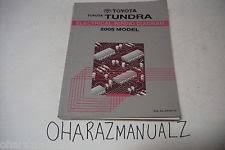 toyota tundra manual 2005 toyota tundra truck electrical wiring diagram shop repair manual oem