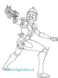 Star Wars Clone Trooper Coloring Pages Clone Wars Coloring Pages