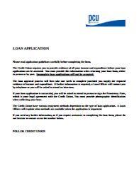 Loan Application Form Loan Application Form Free Download Create Edit Fill Print