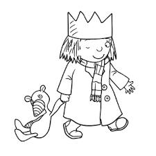 Leuk Voor Kids Kleine Prinses Kleurplaten
