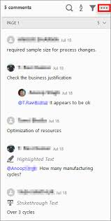 View, reply, print comments in Adobe Acrobat