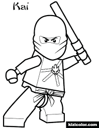 Kai Coloring Pages Coloring Pages Movie Ninjago Kai Coloring Pages