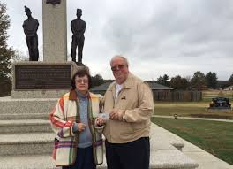 Marilyn Rhodes donates to Union Miners Cemetery in honor of family