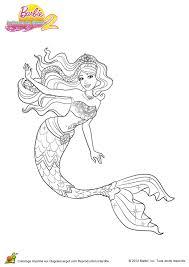 Coloriage Barbie Secret Des Sirenes 2 03 Sur Hugolescargot Com