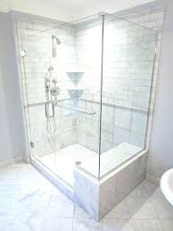 corner shower bench dimensions tile shower seat showers with seats new marble tiled shower with seat