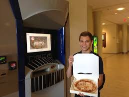 Pizza Vending Machine Xavier Adorable EXCLUSIVE Xavier University's Pizza ATM Is Up And Running The