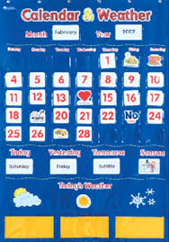 Calendar And Weather Pocket Chart Learning Resources Calendar And Weather Pocket Chart Walmart Com