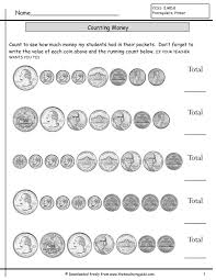 The 25+ best Counting coins worksheets ideas on Pinterest ...