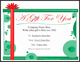 gift certificates format templates for gift certificates new car detailing gift certificate
