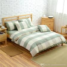 green duvet covers king green gray grey checked brief cotton bedding sets ed for contemporary home