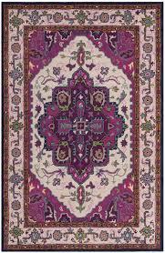 area rugs blokzijl hand tufted wool purple area rug