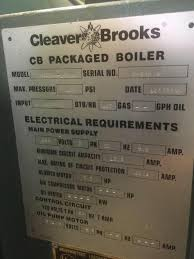 cleaver brooks gas fired pa for used image cleaver brooks gas fired packaged boiler 918961