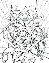 Ninja Turtle Color Pages Ninja Turtle Coloring Pages Color Turtles