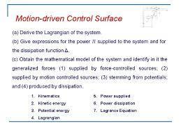 the modeling of singledof mechanical