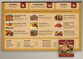 Food Menu Design Menu Board Design For Indian Food Restaurant Evolution Design