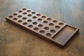 Mancala Wooden Board Game handmade wooden board games 6