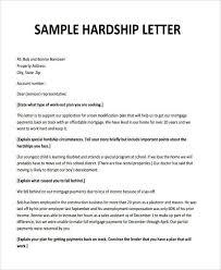 mortgage modification hardship letter hardship letter sample 35 simple hardship letters