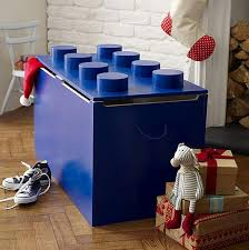 lego furniture for kids rooms. Toy Box With Lego Shaped Storage And Big Blue Size Also Kids Bedroom Decoration Cool Organized Ideas Furniture For Rooms